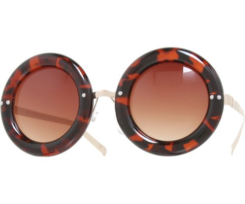 Donut Sunglasses - Tortoise/Brown