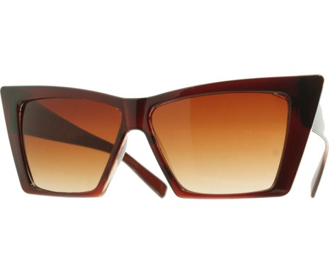 Uber Mod Sunglasses - Brown/Brown