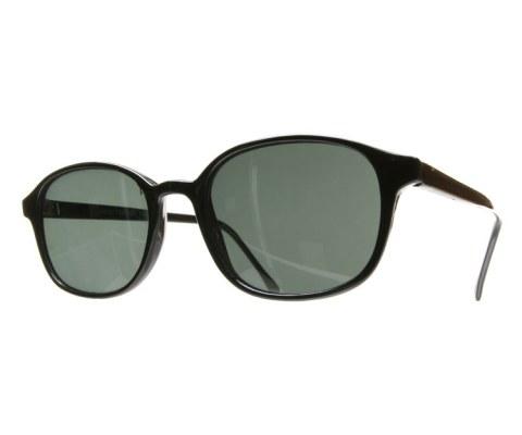 80s Plastic Specs - Black/Black