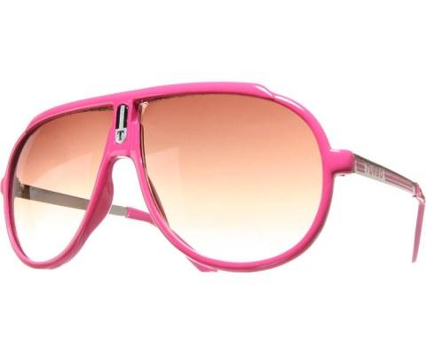 Turbo Sunglasses II - Hot Pink/Brown