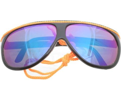 Aviator Pop Lanyards - BlkOrg/Mirror