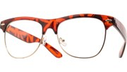 60s Cool Clear Glasses - Tortoise/Clear