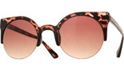 Super Round Sunglasses - Tortoise/Brown
