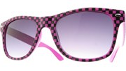 Checkered Cool - Pink/Smoke