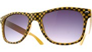 Checkered Cool - Yellow/Smoke