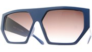 The Pentagon Sunglasses - Blue/Smoke
