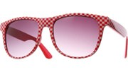 XL Checkered Cool - Red/Smoke