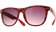 Leopard Clear Cool - Red/Smoke