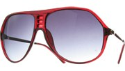 Cornered Aviators II - Red/Smoke