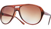 Middle Hole Aviators - Brown/Brown