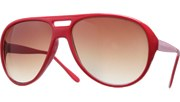 Middle Hole Aviators - Red/Brown