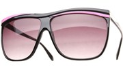 Neon Oversized Sunglasses - Pink/Smoke