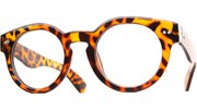 Rounded Thick Glasses - Tortoise/Clear