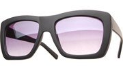 Color Block Sunglasses - Black/Black