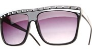 Party Rock Sunglasses - Black/Smoke