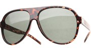 G15 Aviators Sunglasses - Tortoise/Green