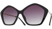 Diamond Sunglasses - Black/Smoke