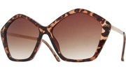 Diamond Sunglasses - Tortoise/Brown