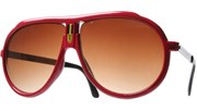 Turbo Sunglasses - Red/Smoke