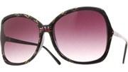 Hand Painted Sunglasses - BlkGrn/Smoke