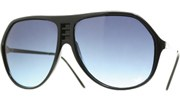 Cornered Aviators II - Black/Blue