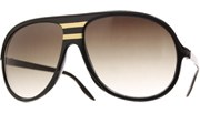 Gold West Aviator Sunglasses