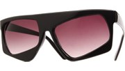 Crooked Eye Sunglasses - Black/Smoke