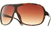 Aviator Shields - Tortoise/Brown
