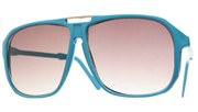 Gold Bridge Aviators - Aqua/Smoke