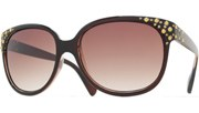 Gold Dots Sunglasses - Brown/Brown