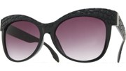 Croc Sunglasses - MatteBlk/Smoke