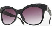 Croc Sunglasses - Black/Smoke