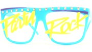 Party Rock Lens Glasses - Blue/Party Rock