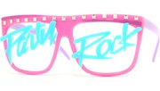 Party Rock Lens Glasses - Magenta/Party Rock