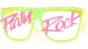 Party Rock Lens Glasses - Green/Party Rock