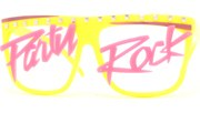 Party Rock Lens Glasses - Yellow/Party Rock