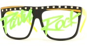 Party Rock II Glow In The Dark Glasses - BlkGrn/Party Rock