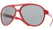 Large Aviator Extraordinaire - Red/Black