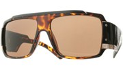 Might RoboCop Aviators - Tortoise/Brown