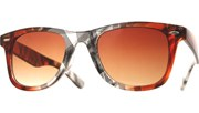 Cool Lace Plaid Sunglasses - ClrBrn/Brn