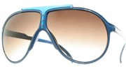 Carrer Aviator Sunglasses - BlueLtBlue/Smoke