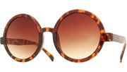 Circle Sunglasses - Tortoise/Brown