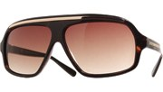 Top Gold Aviators - Tortoise/Brown