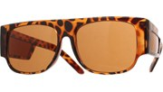Side Window Sunglasses - Tortoise/Brown