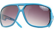 Middle Vent Aviator Shields - Blue/Smoke