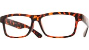 Librarian Reading Glasses - Brown/Clear