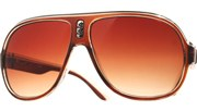 Plastic Aviator Sunglasses - BrnBlrBlk/Brn