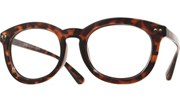 Double Studded Reading Glasses - Tortoise/Clear