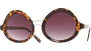 Oval Spec Sunglasses - Tortoise/Smoke