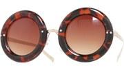 Donut Sunglasses - Tortoise/Brown